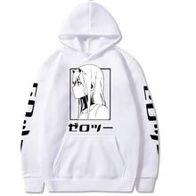 Liebling In Die Franxx Männer Frauen Unisex Hoodies Sweatshirts Null Zwei Hoodie cheap CJ STAR CN (Herkunft) Voll High Street Druck REGULAR Mit Kapuze Kein STANDARD COTTON NONE