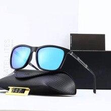 Aluminum Magnesium HD Polarized Sunglasses Men Women Driving Glasses Luxury Brand Designer TR90 Square Goggle Gafas De Sol 547