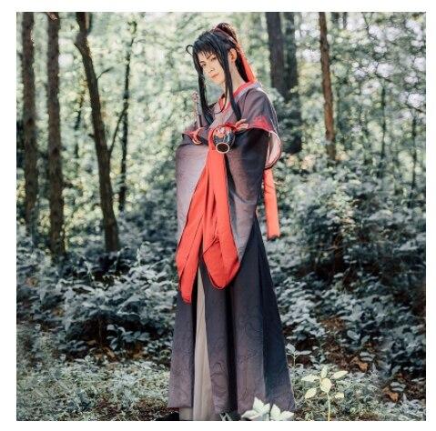 Nouveau Cosplay Wei Wuxian Mo Xuanyu Costume Anime grand maître de la culture démoniaque Cosplay Mo Dao Zu Shi Costume hommes - 6