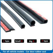 P Z D סוג רכב דלת חותם weatherstripping דלת גומי חותם רצועת רכב בידוד קול רכב דלת גומי איטום עבור רכב Sael