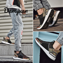 Damyuan 2019 New Fashion Shoes Daddy shoes Plug Size 46 Men Women Comfortables Breathable Non-leather Casual Lightweight