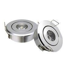 GD 10 pièces Mini Spot 3W Dimmable LED encastré Downlight AC85 265V COB LED plafonnier Spot intégré Spot LED + pilote
