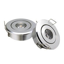 GD 10 stücke Mini Spot 3W Dimmbare Led einbauleuchte AC85 265V COB LED Decke Spot Licht Eingebettet Spot LED scheinwerfer + Fahrer