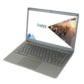 HOT-Jumper EZbook X3 13.3 Inch IPS Screen Laptop N3450 Quad Core 8GB/128GB Metal Shell Notebook with M.2 SATA SSD Slot