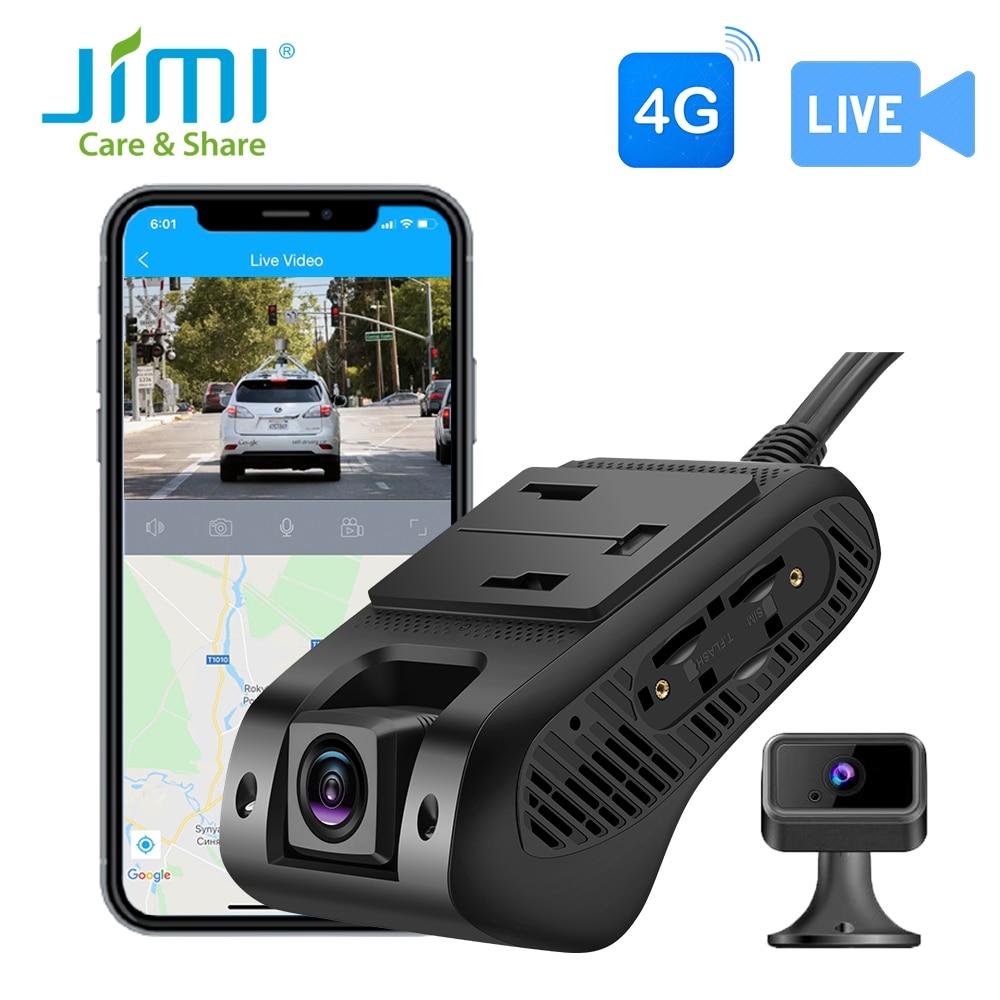 Jimi JC400 4G видеорегистратор с двойной камерой s живое видео GPS отслеживание WiFi удаленный мониторинг Автомобильный видеорегистратор Камера рег...