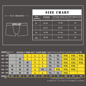 Image 5 - 4pcs/lot Men Underwear Boxer Cotton Male Panties Underpants Breathable Man Boxer Comfortable Shorts  Boxershort Homme Cueca 212