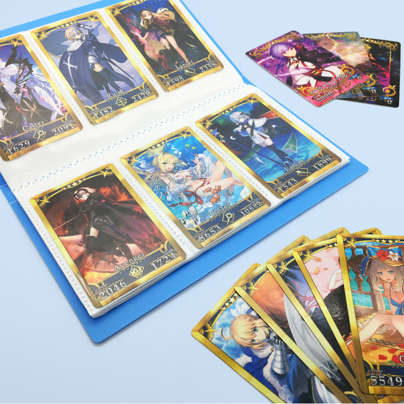 Fate/FGO Card Collection Book Can Hold 120-180 Cards The Holy Grail War Alter Toys Hobbies Hobby Collectibles Game Anime