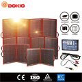 Dokio Monocrystalline Flexible Faltbare photovoltaic Panel Reise & cell Telefon & camping 18V 80w 100w 150w 200w 300w Tragbare Hohe Efficience Solar board + 12V USB controller Kit