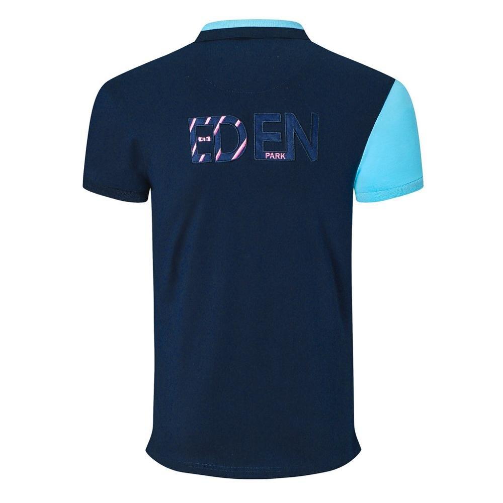 Nova chegada masculina retalhos polo camisas design da marca stright topos negócios casual homme bordado topos mais 3xl 4