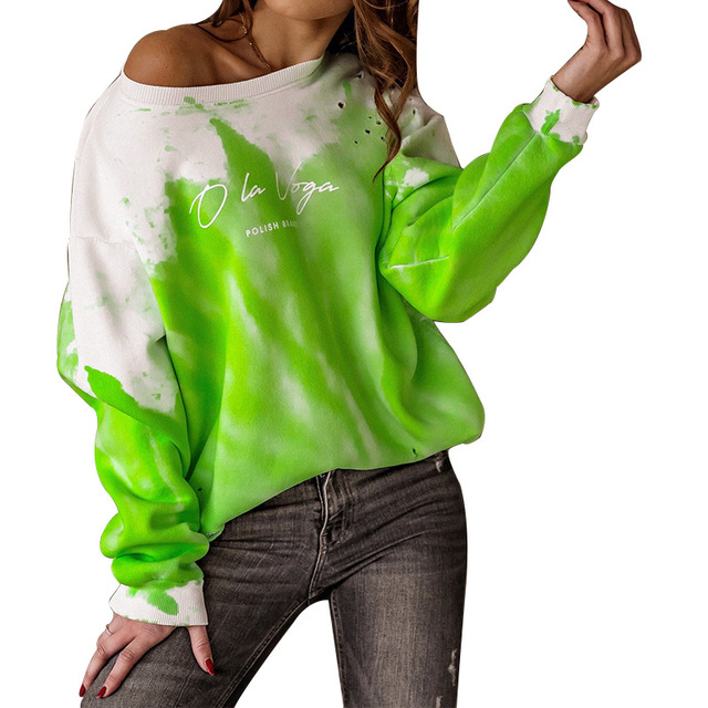 2021 Spring Autumn Women Blouses Shirt Sweatshirts Casual O-Neck Women Tops and Blouse Loose Long Sleeve Print Shirts Pullovers 6