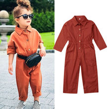Baby Girl Clothes and Boys Autumn Long Sleeve Romper Jumpsuit Overalls Outfit