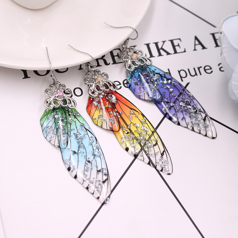 TITANIA FAIRY WING EARRINGS 3