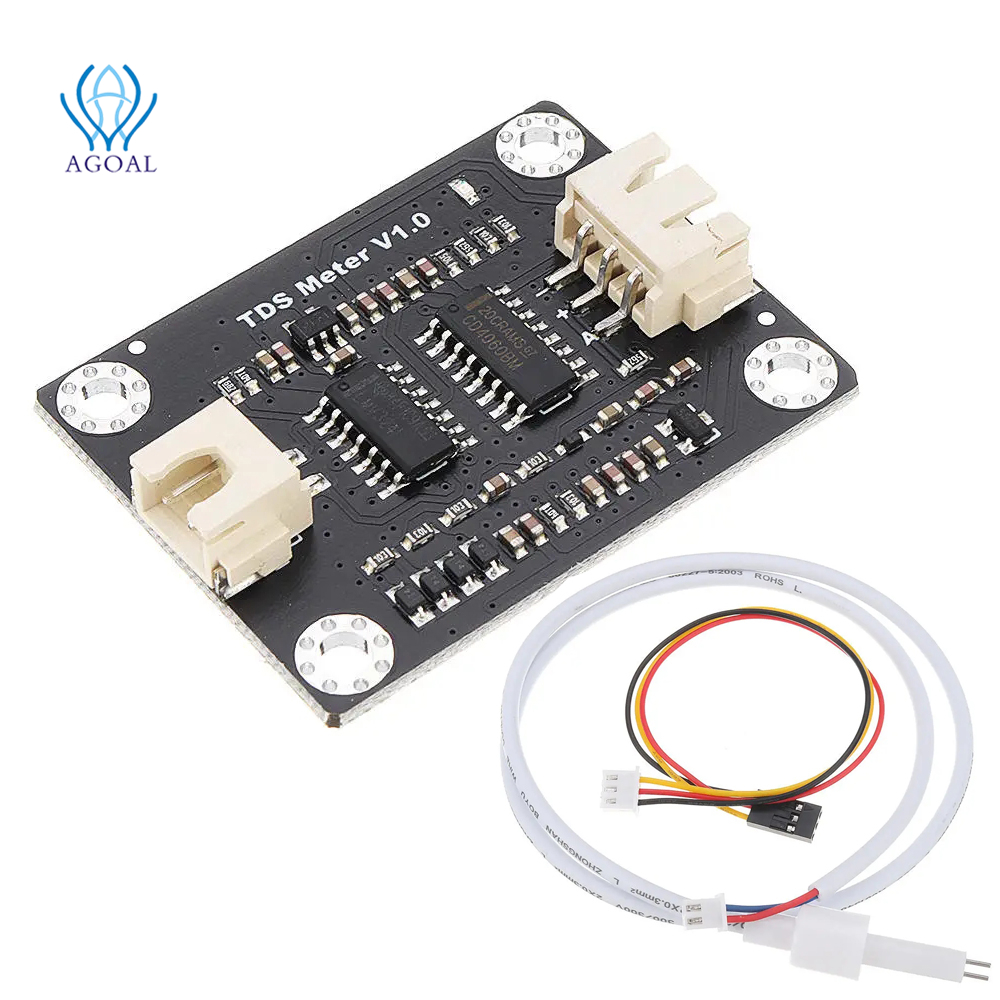 TDS Meter V1.0 Board module Water Meter Filter Measuring Water Quality for arduino unor3