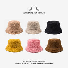 Kobiety czapka zimowa stałe sztuczne futro ciepła czapka damska Faux futro kapelusz typu Bucket dla kobiet ochronna powłoka chroniąca przed słońcem kapelusz Panama Lady Cap M017