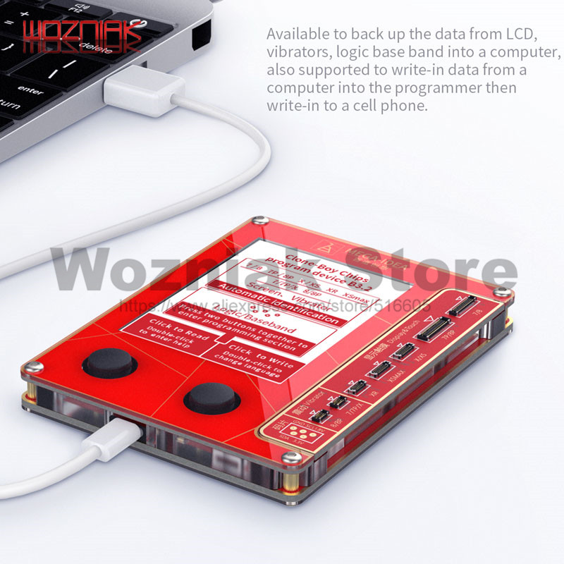 Qianli Mega-Idee Lcd-scherm True Tone Reparatie Programmeur Trillingen/Lichtgevoelige Voor Iphone 7 8 Xr Xs Max goed Als Qianli Icopy