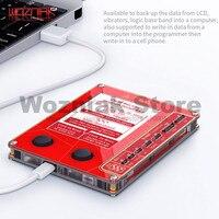 Qianli mega ideia tela lcd verdadeiro tom reparação programador vibração/fotossensível para iphone 7 8 xr xs max bom como qianli icopy|Conj. ferramentas elétricas| |  -