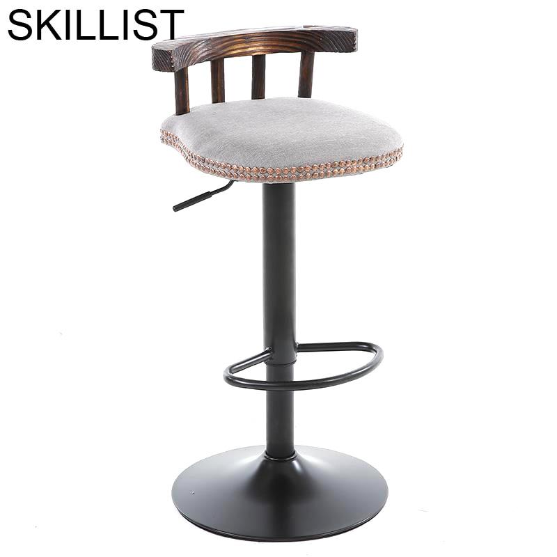 Stoel Sedia Hokery Cadir Taburete Ikayaa Sandalyeler Sgabello Sedie Leather Stool Modern Tabouret De Moderne Silla Bar Chair