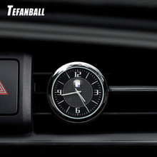 Car Clock Car Interior Quartz Watch Car Decoration Clock With LOGO For Audi RS BMW Mercedes-Benz AMG VW Jaguar Lexus Ford Honda