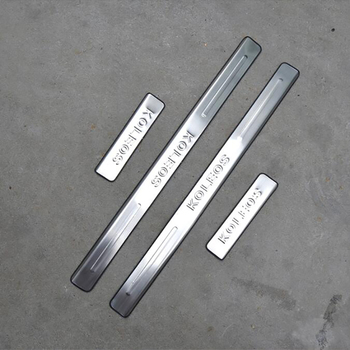 for (left rudder) 09-2015 Renault Koleos threshold bar stainless steel welcome pedal retrofit accessories