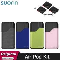Suorin-Kit de iniciación de vapeo AirPod Original, 16W, 400mAh, batería integrada, 2ml, Cartucho de cigarrillo electrónico