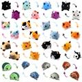 Двухсторонняя Двусторонняя игрушка для кошек и собак, мягкий подарок для детей, плюшевые игрушки в виде единорога, двухсторонняя игрушка-фл...