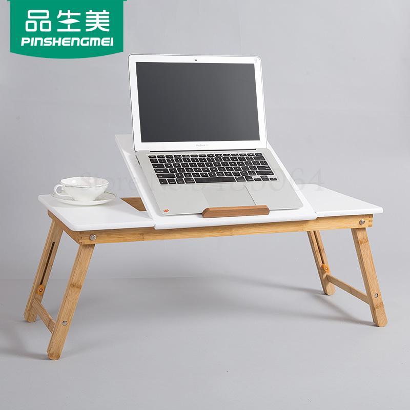 Модный удлиненный стол для ноутбука в японском стиле, столик для мобильного телефона, небольшой складной подъемный столик для ленивых
