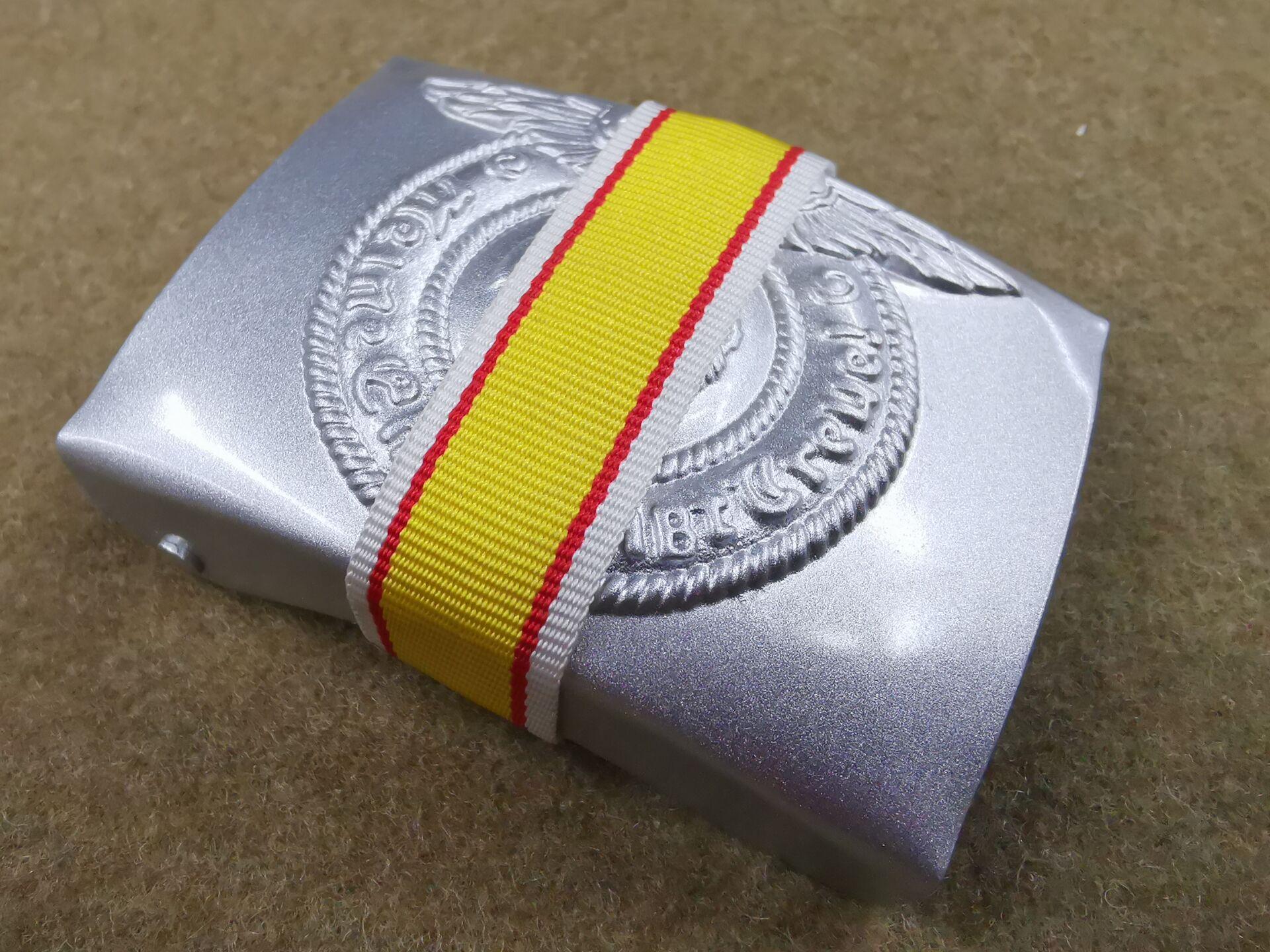EMD WW2 Belt Buckle Silvery