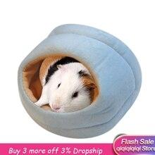 Ежик Зимний милый простой теплый маленький коврик для кровати в виде животного хомяк шиншилла кролик гнездо для домашних животных товары для кровати Прямая поставка#9560