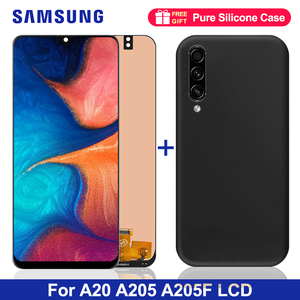 6.4'' LCD For Samsung A20 A205 SM-A205F A205FN Display lcd Screen A205GN A205S A205YN display lcd screen Digitizer Assembly(China)