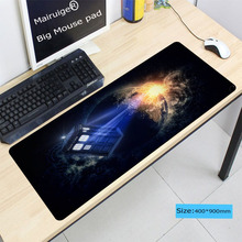 Doctor who Rubber large Lock Edge mouse mat desk mats big mousepads gaming XL for CSGO DOTA Speed office work/