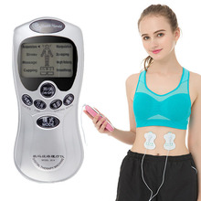 4Electrode Health Care Electric  Machine Electric  Muscle Stimulator Tens Acupuncture Full Body Massager Pain цена