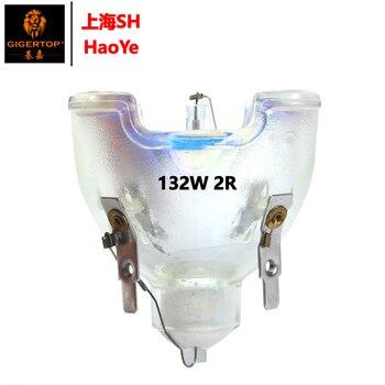 Gigertop 1R 2R 132W движущийся головной свет лампы питания Бесплатная доставка Шанхай Haoye Core 8500K 5000LUX гладкая пятно высокой яркости