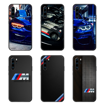 Germany M BMW Sports Car Phone Case Cover Hull For Huawei P8 P9 P10 P20 P30 P40 Lite Pro Plus smart Z 2019 black shell art prime image