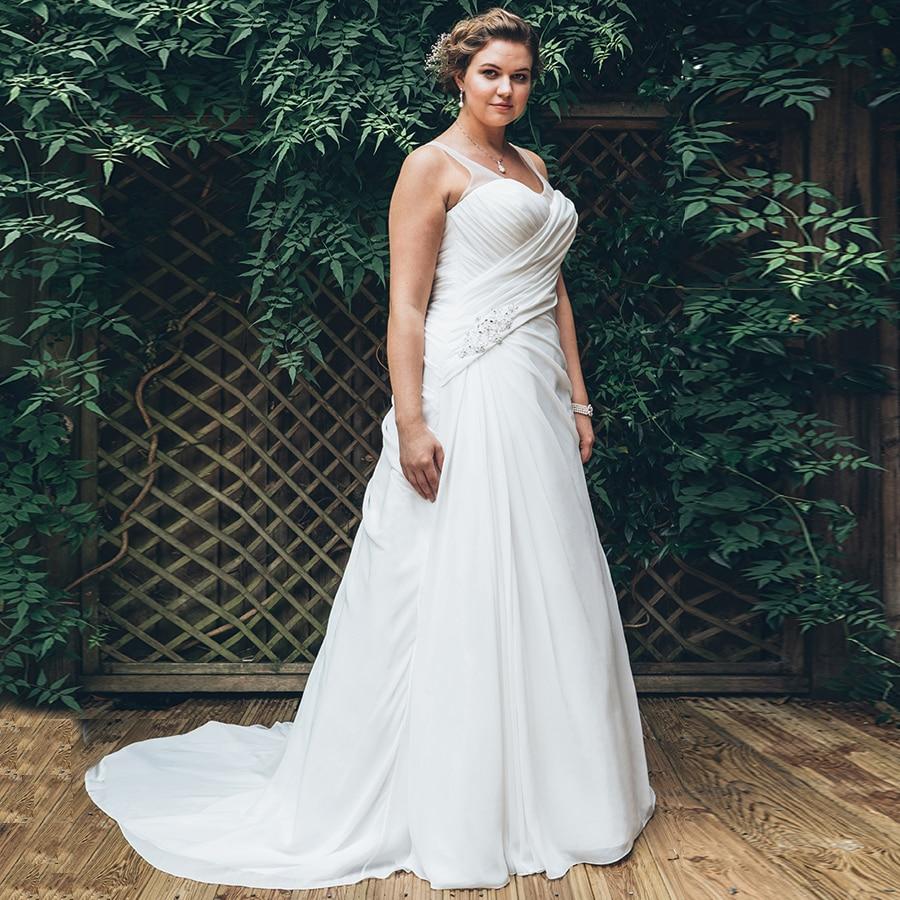 Купить женское свадебное платье с v образным вырезом без рукавов