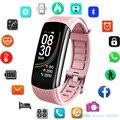 Модные спортивные Смарт-часы для женщин и мужчин  женские наручные часы для Andriod Ios  умные часы  фитнес-трекер  водонепроницаемые умные часы