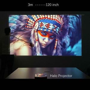 Image 5 - Мини проектор XGIMI Halo Full HD DLP, Android 9,0, Wi Fi, портативный, поддержка 4K видео ТВ, 3D домашний кинотеатр с аккумулятором, Google OS проектор.