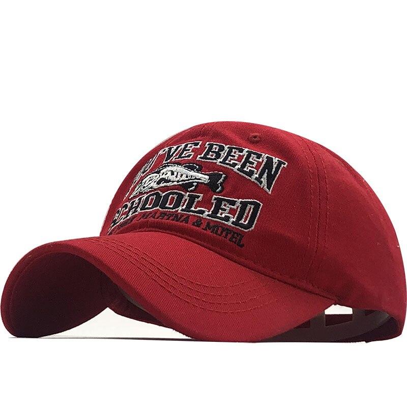 Fish Bone Men's Baseball Cap Women's Snapback Fishing Embroidery Dad Hat Man Kids Trucker Gorra Summer Fisher Brand Men Cap