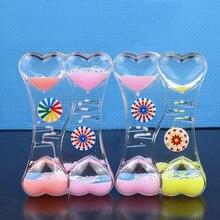 Creative slide plastic oil drop ornaments pudding milk color liquid hourglass oil spill gift toy