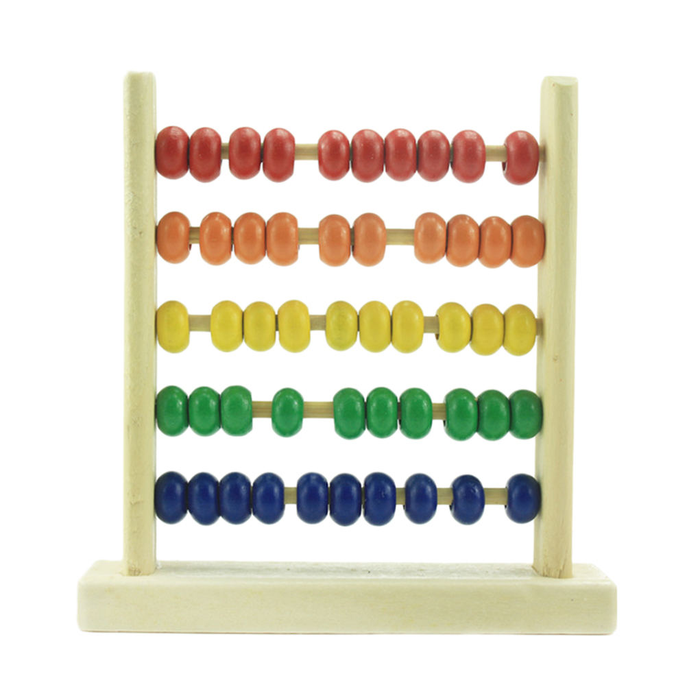 Wooden Abacus Toy Math Kids School Learning Abacus Colorful Educational Toy for Children Learning Education Toys