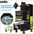 Машина для герметизации стаканчиков Xeoleo, полностью автоматическая машина для Пузырькового чая для 9/9, 5/8, 8, машина для чая Boba из ПП/ПЭ/бумаги, ...