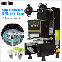 Sealing-Machine Sealer-Cup Boba Full-Automatic Xeoleo for Pe/paper Milk