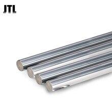 Tige linéaire ronde chromée pour imprimante 3d, axe linéaire rond, 8mm, 10mm, L100, 150, 200, 250, 300, 350, 400, 450, 500, tige linéaire ronde