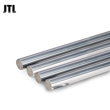 Axe linéaire, barre optique ronde pour imprimante 3d, barre linéaire chromée, 6mm, 8mm, 10mm, 12mm, L100, 200, 300, 400, 500, 800