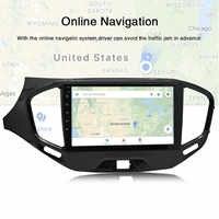 Onever auto Radio Multimedia reproductor de Video GPS de navegación 1080P pantalla Android para LADA Vesta Cruz deporte 2015-2020