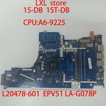 15-DB 15T-DB motherboard Mainboard for HP laptop L20478-601