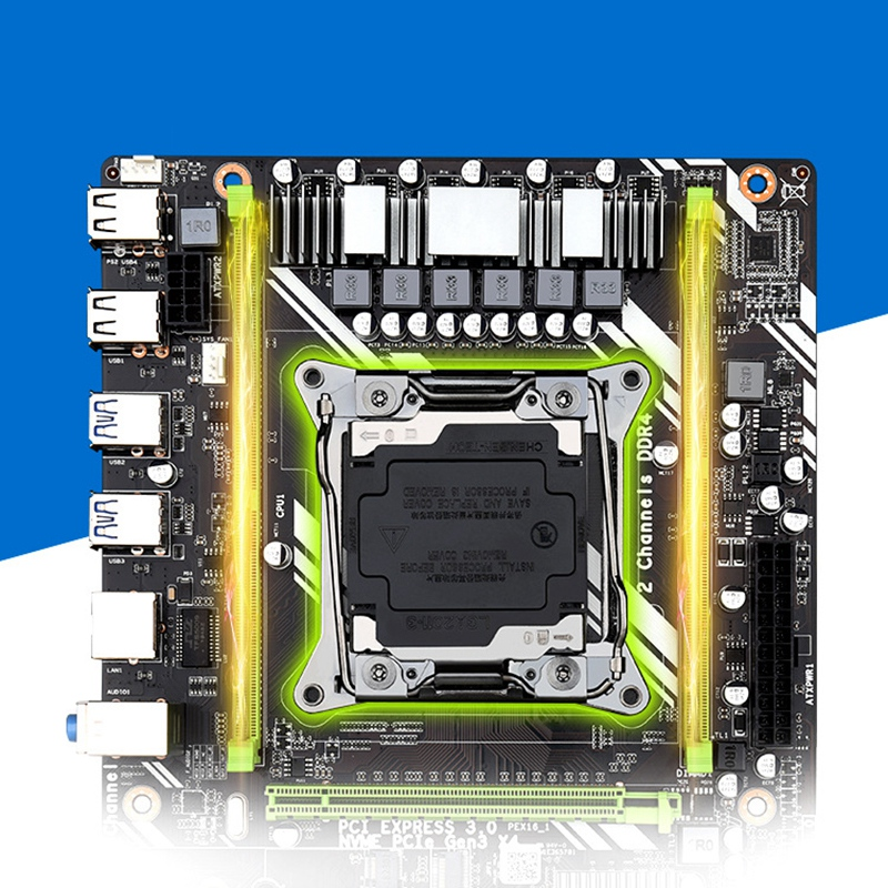 New X99 D4 Computer Motherboard Dual Channel Support Xeon E5-2011V3 Full Series Studio Game Motherboard