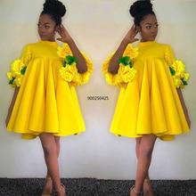 African-Dresses Bubu Clothing Party-Gowns Dashiki Ankara Plus-Size Women for Girls Attire