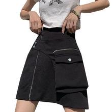 Винтажные женские мини юбки с высокой талией в стиле Харадзюку