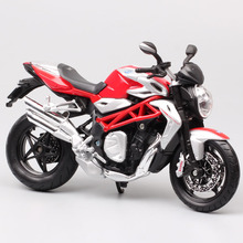 children 1:12 Scale MV Agusta F4 Brutale 1090 RR R Diecasts & Toy Vehicles model motor bike motorcycle Collectible for miniature