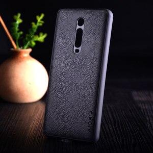 Image 2 - Case for Xiaomi Mi 9t redmi K20 pro funda Luxury Vintage leather litchi skin cover TPU + PC phone case for xiaomi mi 9t mi9t